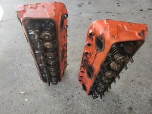 1974 Chevy 350 882 Cylinder Heads 1 94 Valves