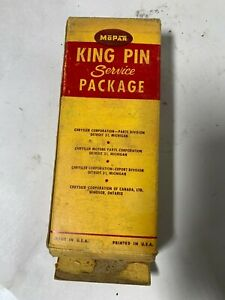 1946 1947 1948 Oem Nos Chrysler Dodge Desoto Plymouth King Pin Service Package