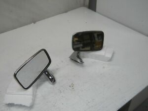 Mgb Mg Door Mirrors Pair Right And Left Tex Made In England 165 135 165 170 New