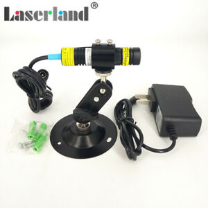 16 68mm 830nm 300mw Ir Infrared Focusable Dot Diode Laser Module W Adapter Mount