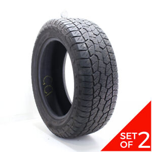 Set Of 2 Used 275 55r20 Hankook Dynapro Atm 113t 7 5 8 5 32