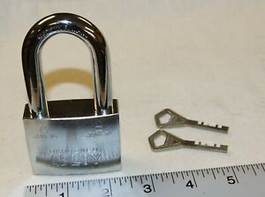 Abloy 3085 25 3086 50 Padlock With 2 New Keys High Security New