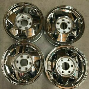 1992 1999 Gmc Truck 1500 Wheels Rims 16 Inch 6x139 7 Hollander 5015 Chrome