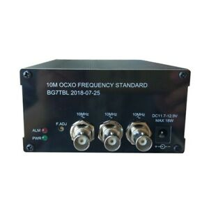 10mhz Reference Ocxo Frequency Standard 2 way Sine Wave 1 way Square Wave Output
