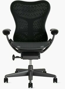 Authentic Herman Miller Mirra 2 Task Chair Flex Front Adjustable Arms Butterfly