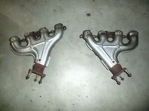 2001 Oe Chevrolet Corvette C5 Left And Right Exhaust Manifold Ls1 General Motors