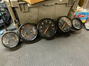 Porsche 911 964 Instrument Cluster Gauge Set Manual Speedo Tach