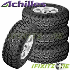 4 Achilles Desert Hawk X mt 35x12 50r20 121q Off Road Mud Tire 35x12 50x20 New