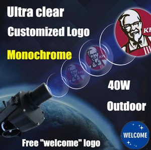 Usa 40w Outdoor Led Gobo Projector Advertising Logo Light For Tattoo Store Sign