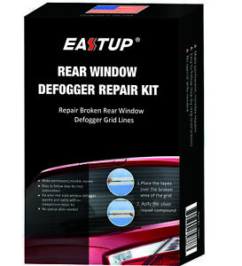 Eastup Rear Window Defogger Defroster Grid Line Repair Kit Connect Recover Kit