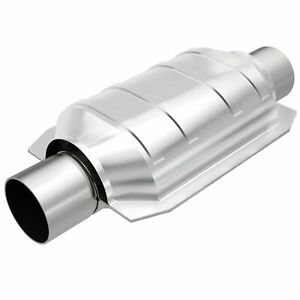 Magnaflow 94109 Universal High Flow Catalytic Converter Oval 3 In Out