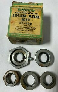 1937 1957 Cadillac Ford Gm Buick Others Dual Ball Bearing Idler Arm Kit 1950