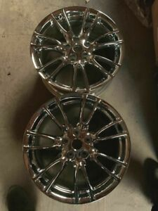 2007 2009 Infiniti G35 Wheels Rims 18 Inch 5x114 3 Hollander 73695r Chrome