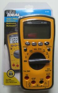 Ideal 61 342 Test pro Digital Multimeter With Trms New In Package