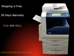 Xerox Workcentre 7855i Color Copier Printer Scanner Very Clean