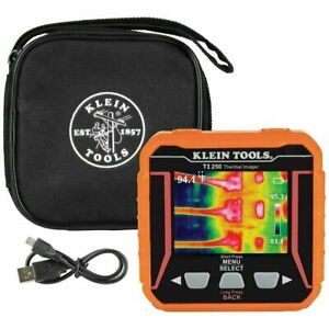Klein Ti250 Cordless Rechargeable Thermal Imager W Micro usb Charging Cable