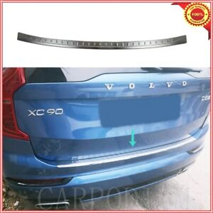 Chrome Rear Bumper Protector Scratch Guard S steel For Volvo Xc90 2015up