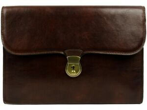 Brown Leather Portfolio Age Of Innocence By Time Resistance
