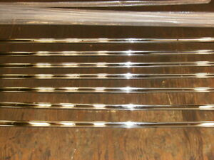1954 1959 Chevrolet 3100 Half Ton Truck Polished Stainless Steel Bed Strips New