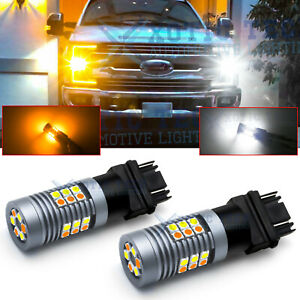Switchback Front Turn Signal Light For Ford F 150 F 250 F350 2001 2014 Led Bulbs