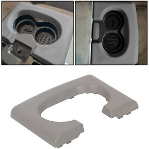 Center Console Cup Holder Pad Grey Gray For 2004 2014 Ford F150 F 150