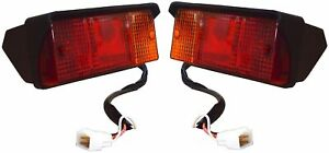 Tail Light Lamp Assembly Set With Bulbs Suitable For Mahindra Bhumiputra Tractor
