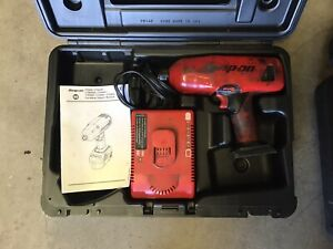 Ct6850 Snap On 1 2 Impact Gun W Charger