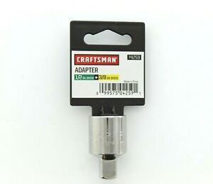 Craftsman 1 2 Inch Drive To 3 8 Inch Drive Socket Adapter Hand Tool 4259