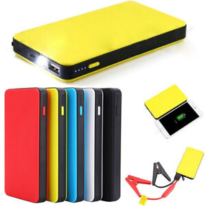 Car Jump Starter Power Bank Engine Battery Charger Portable 12v 20000mah