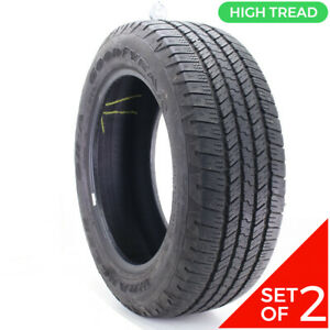 Set Of 2 Used P 275 55r20 Goodyear Wrangler Sr A 111s 8 5 32