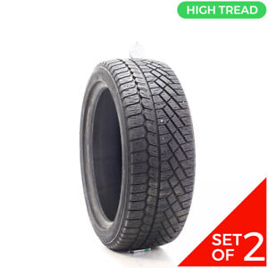 Set Of 2 Used 215 45r17 Continental Extremewintercontact 87t 10 32