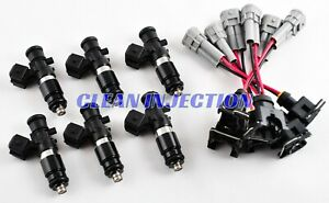 Fit Nissan Skyline R35 Gtr Vr38 Vr38dett Turbo 3 8l Bosch 1200cc Fuel Injectors