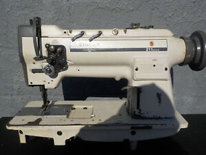 Industrial Sewing Machine Model Singer 211 a112k Single Walking Foot r Leather