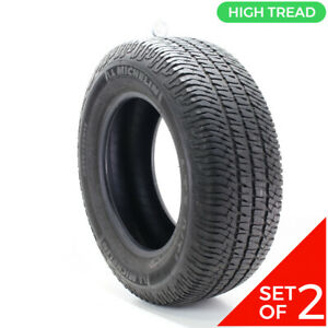 Set Of 2 Used 275 65r18 Michelin Ltx At2 114t 8 5 32