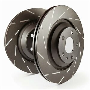 Disc Brake Rotor shelby Gt500 Front Ebc Brake Usr7640 Fits 2013 Ford Mustang