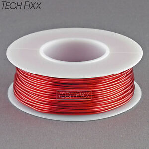 Magnet Wire 20 Gauge Awg Enameled Copper 79 Feet Coil Winding And Crafts Red