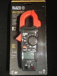 Klein Tools Cl220 400 Amp Ac Auto ranging Digital Clamp Meter