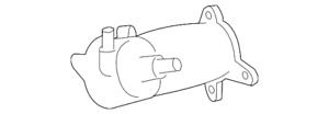 Genuine Toyota Thermostat Housing 16323 0s010