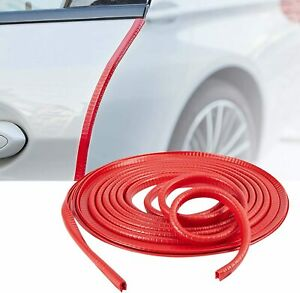 10ft Rubber Car Door Window U Shape Seal Strip Protector No Glue Scratches Guard