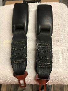 Gm Seat Belt Extender 25661624 Black 46a10