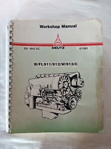 Deutz Special Equipment Catalog Shop Tools 11 1983 Free Shipping