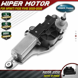 Windshield Wiper Motor For Infiniti Fx35 Fx45 2003 2004 2008 Sport Utility Rear