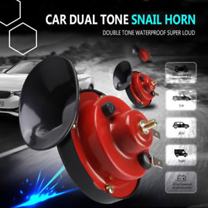 300db Super Car Train Horn For Trucks Suv Car boat Motorcycles New Us