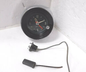 1965 Pontiac Clock Serviced Works Perfectly Bonneville Grand Prix Catalina 65