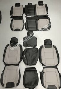 Ford F250 Xlt Supercrew Katzkin Leather Seat Covers Limited 2017 2018 2019 2020