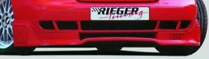 Audi A4 B5 1994 2001 Rieger Genuine Oem Front Bumper Cup Spoiler Add On New