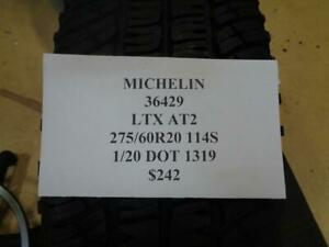 1 New Michelin Ltx At2 275 60 20 114s Tire Wo Label 36429 Q0