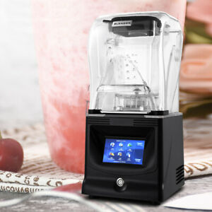 1800w Heavy Duty Commercial Grade Blender Mixer For Fruit Juicer W Lcd Touchpad