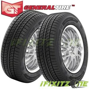 2 General Altimax Rt43 205 70r16 97t All Season Touring Tires 75k Mile Warranty