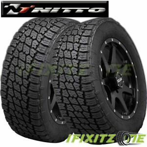 2 Nitto Terra Grappler G2 35x12 50r20lt 121r All Terrain A T Suv Cuv Truck Tire